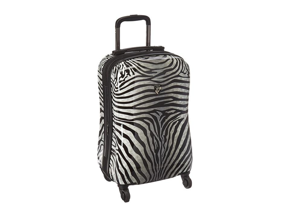 Heys America Zebra Equus 21 Spinner (Black/White) Luggage