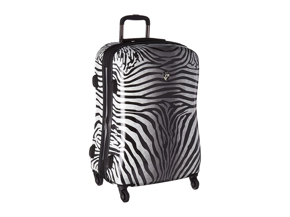 Heys America Zebra Equus 26 Spinner (Black/White) Luggage