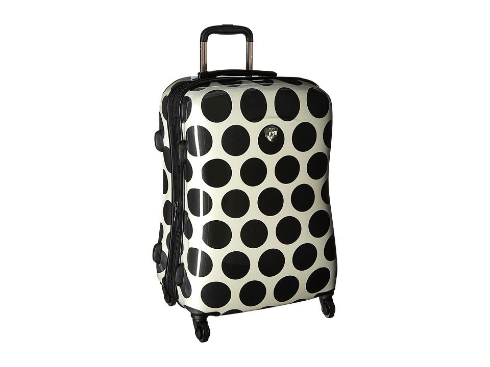 Heys America Spotlight 26 Spinner (Black/White) Luggage