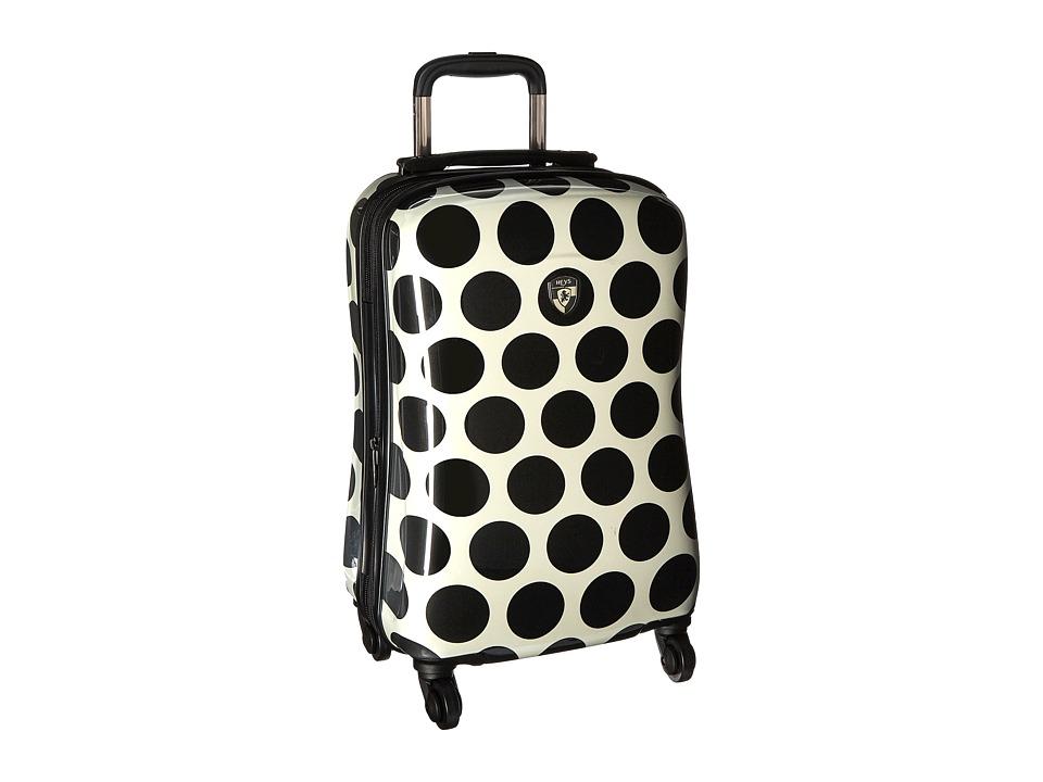 Heys America Spotlight 21 Spinner (Black/White) Luggage