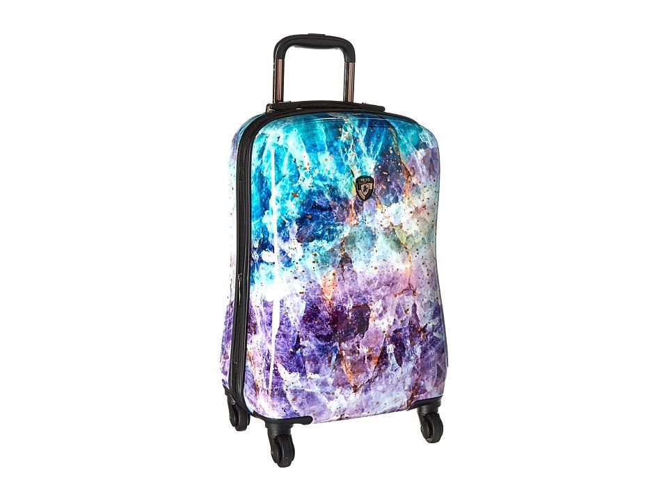 Heys America Quartz 21 Spinner (Purple) Luggage