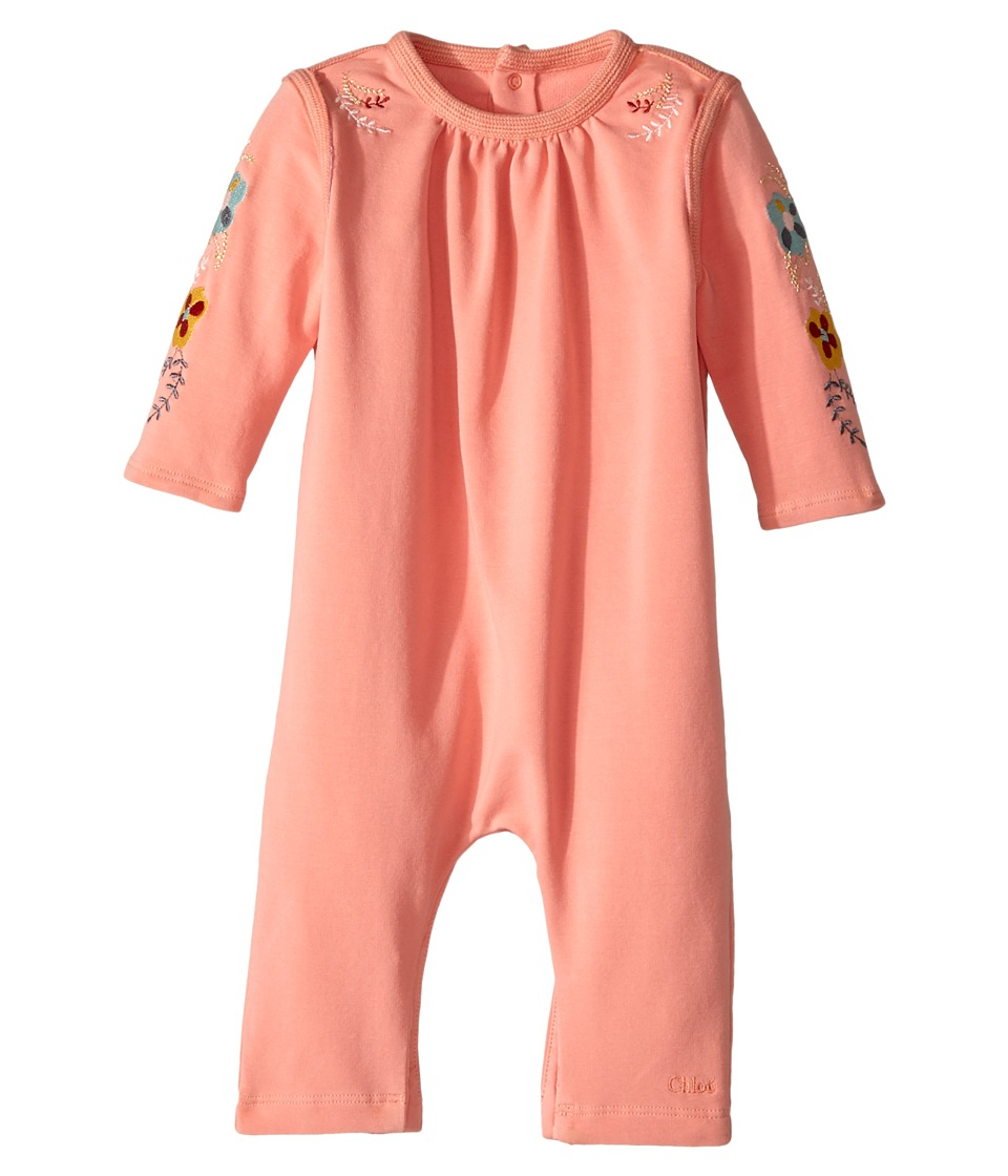 Chloe Kids - Soft with Embroideries Long Sleeve Bodysuit