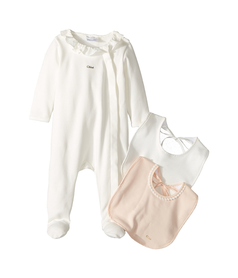 Chloe Kids - Gift Box - Essential Long Sleeve Bodysuit w/ 2 Bibs