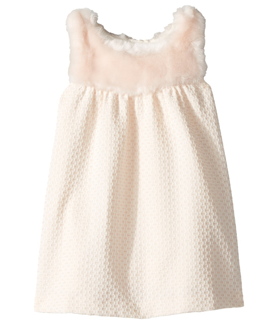 Chloe Kids - Sleeveless Faux Fur Dress