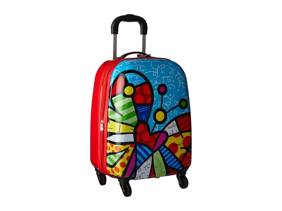 Heys America Britto Tween Spinner (Butterfly) Luggage