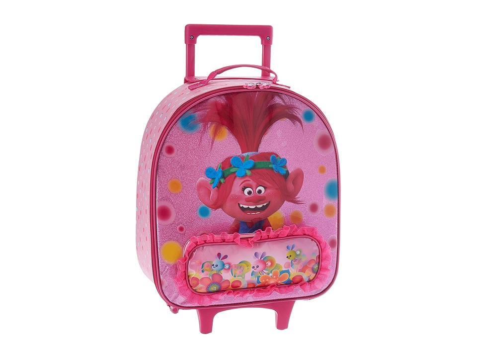 Heys America - DreamWorks Trolls Kids Softside Luggage (Pink) Luggage