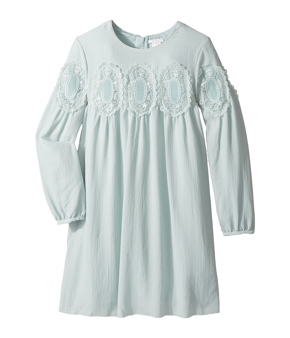 Chloe Kids - Couture Mini Me Long Sleeve Medallions Lace Dress