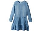 Chloe Kids - Soft Denim Dress (Big Kids)