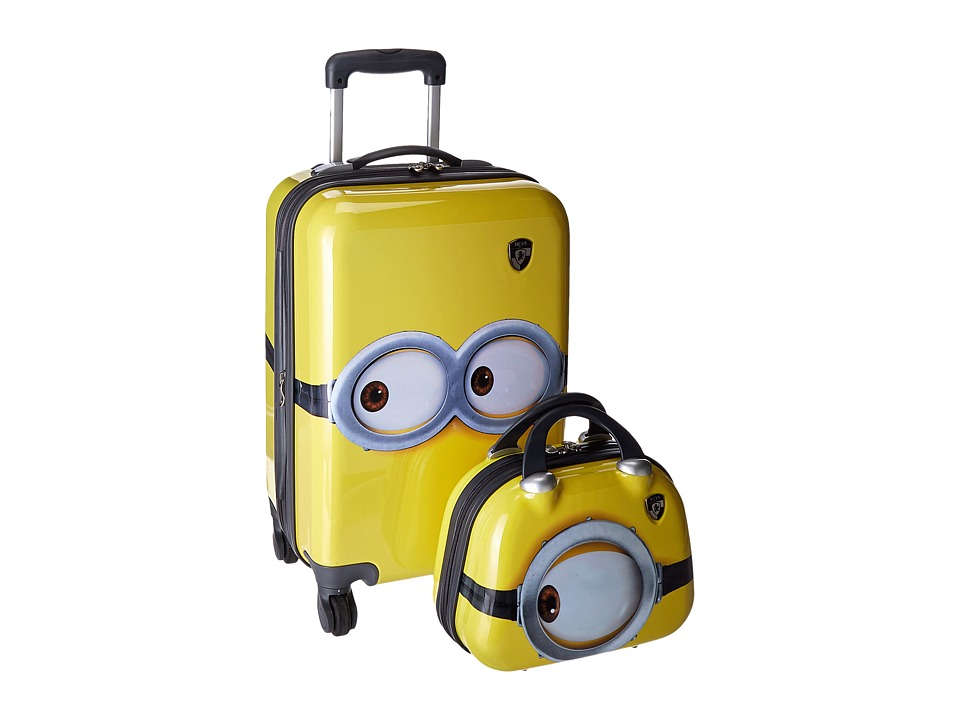 Heys America Universal Studios Minions 21 Carry On with Mini Case (Yellow) Carry on Luggage