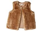 Chloe Kids Sleeveless Faux Fur Vest (Big Kids)