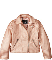 eve jnr - Vegan Leather Moto Jacket (Little Kids/Big Kids)