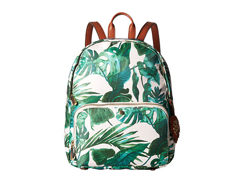 Tommy Bahama Siesta Key Zip Backpack - Jade Leaf