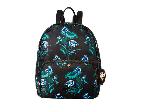 Tommy Bahama Siesta Key Zip Backpack - Black Water Lilies