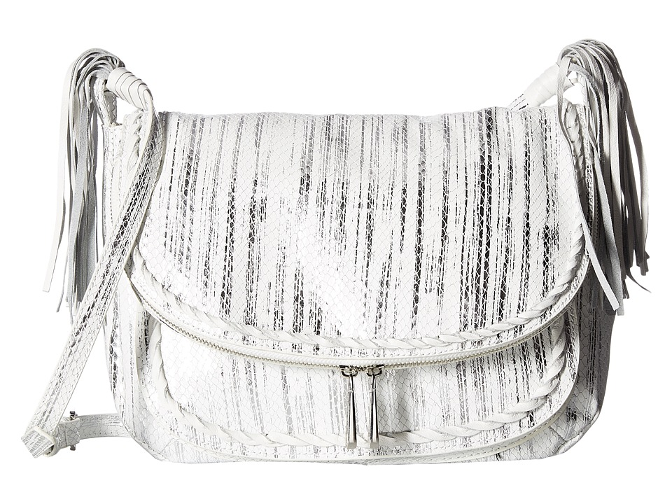 Tommy Bahama Abaco Messenger (Silver Snake) Messenger Bags