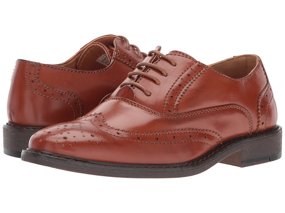 Stacy Adams Kids TY (Little Kid/Big Kid) (Cognac) Boy's Shoes