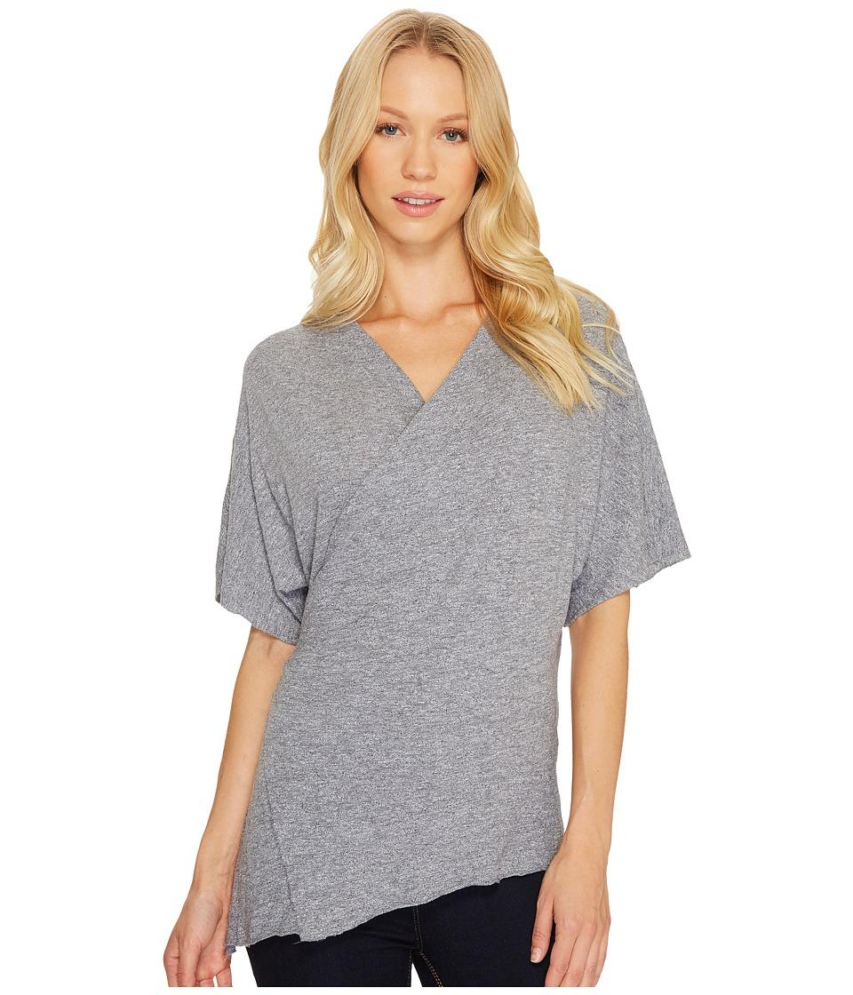 Lanston - Wrap Tee (Heather) Womens T Shirt