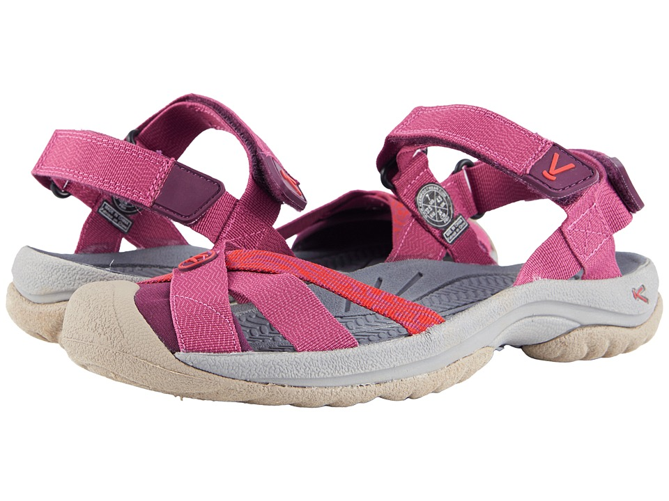 Keen Bali Strap (Red Violet/Boysenberry) Women's Shoes