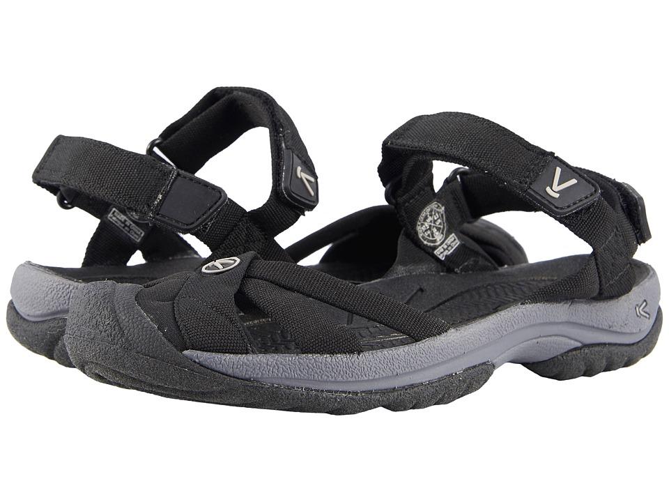 Keen Bali Strap (Black/Steel Grey) Women's Shoes