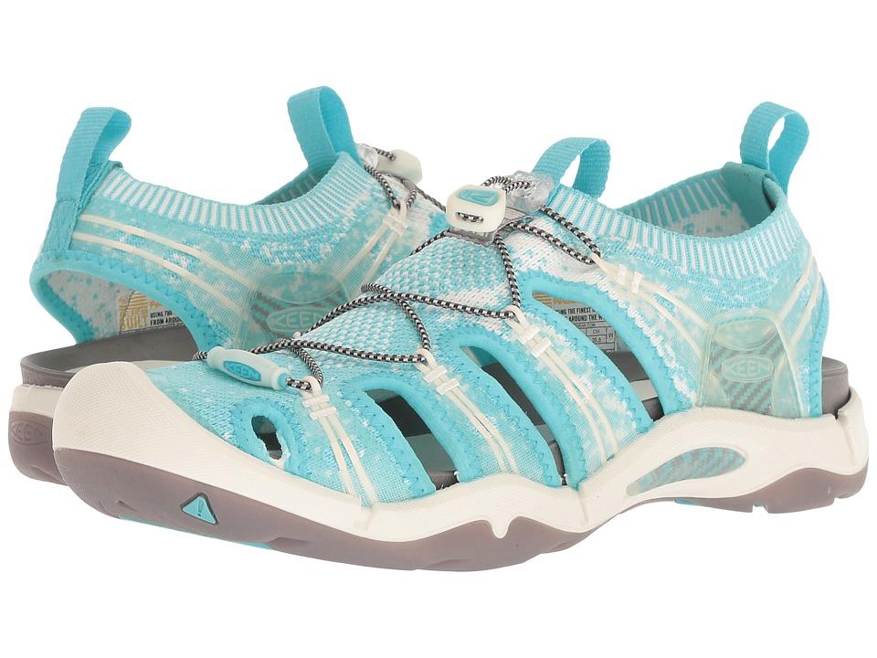 Keen Evofit One (Light Blue) Women's Shoes