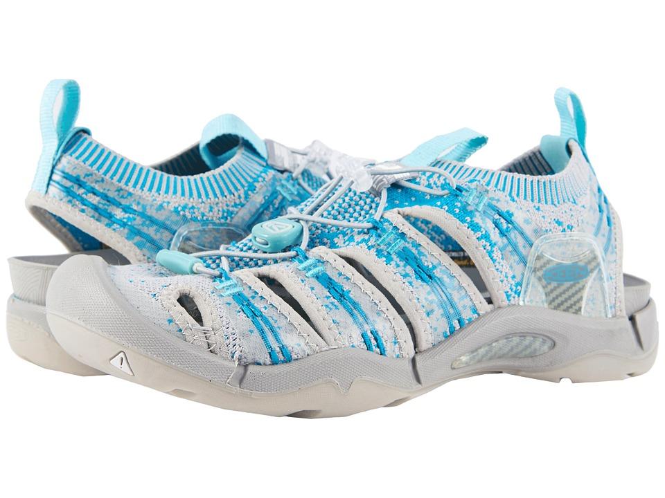 Keen Evofit One (Paloma/Lake Blue) Women's Shoes