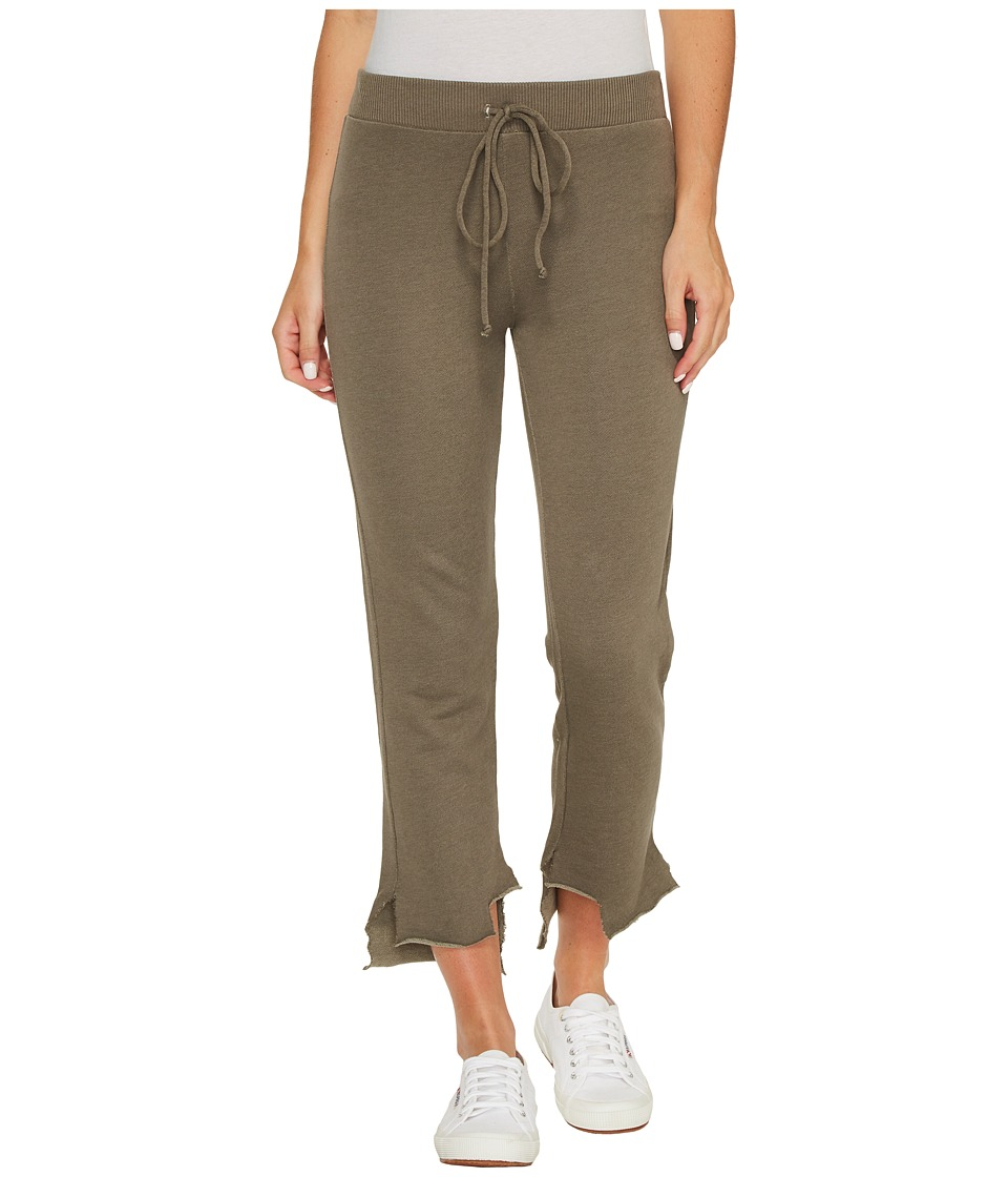 Lanston - High-Low Pants (Army) Womens Casual Pants