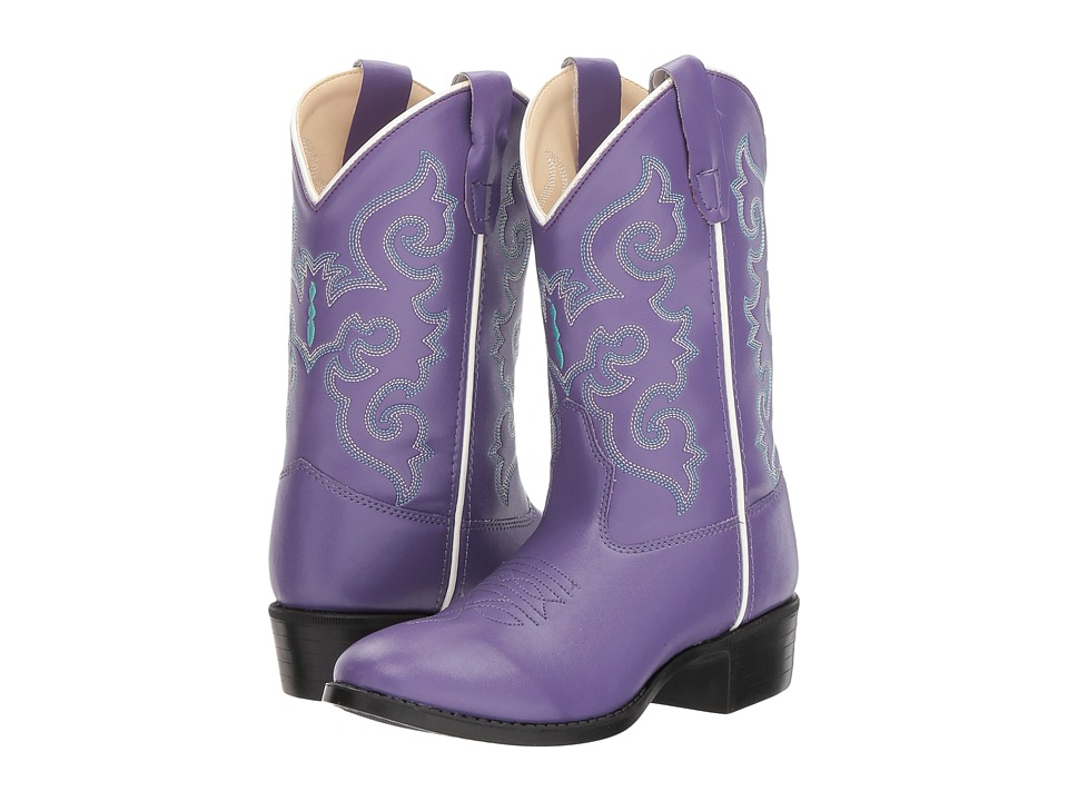 Old West Kids Boots - Pearlized Purple (Toddler/Little Ki...