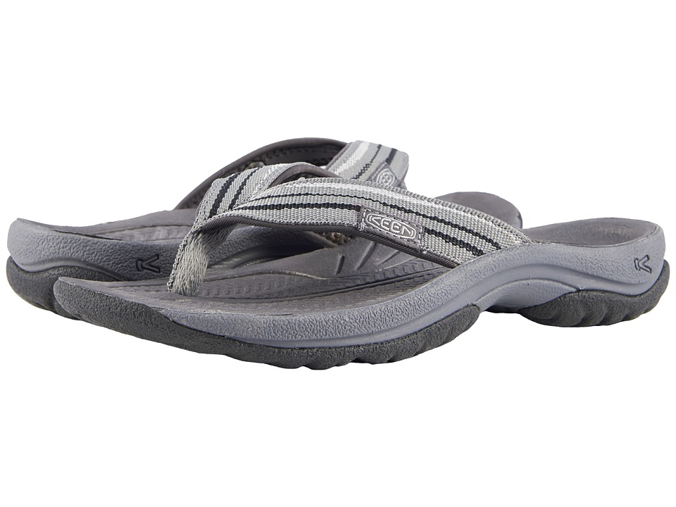 Keen Kona Flip (Steel Grey/Black) Sandals