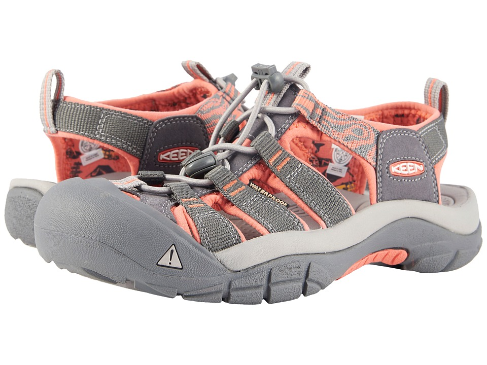 Keen Newport Hydro (Magnet/Coral) Women's Shoes