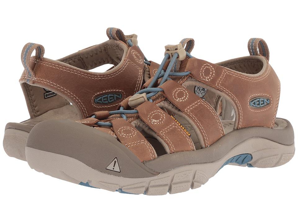 Keen Newport (Sand Trap/Provincial Blue) Women's Shoes
