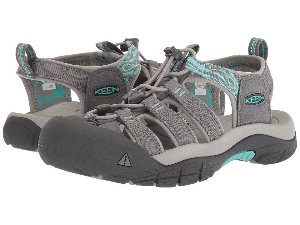 Keen Newport Hydro (Steel Grey/Blue Turquoise) Women's Shoes