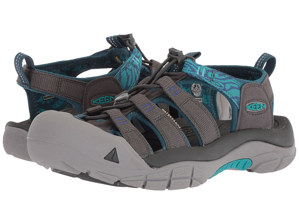 Keen Newport Hydro (Magnet/Surf the Web) Women's Shoes