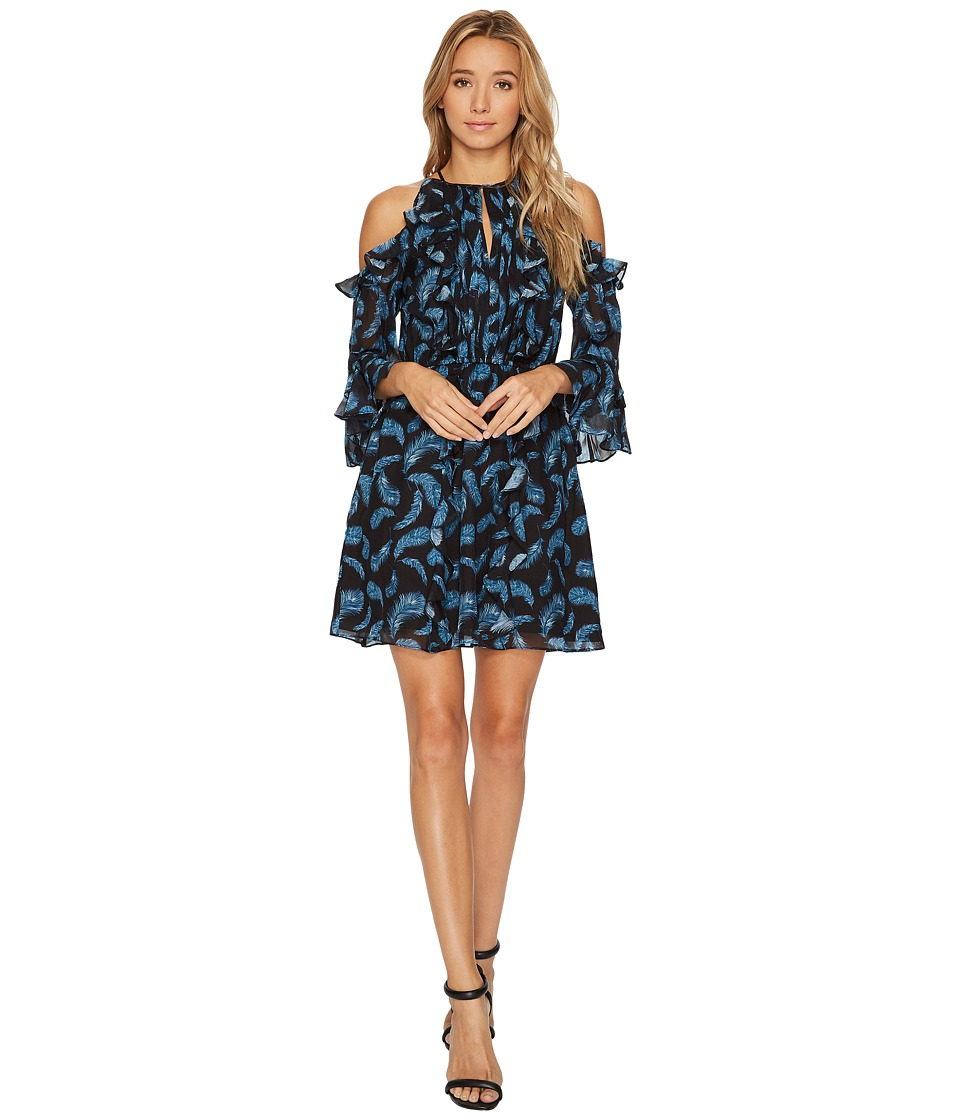 Rachel Zoe - Feather Print Vikki Dress