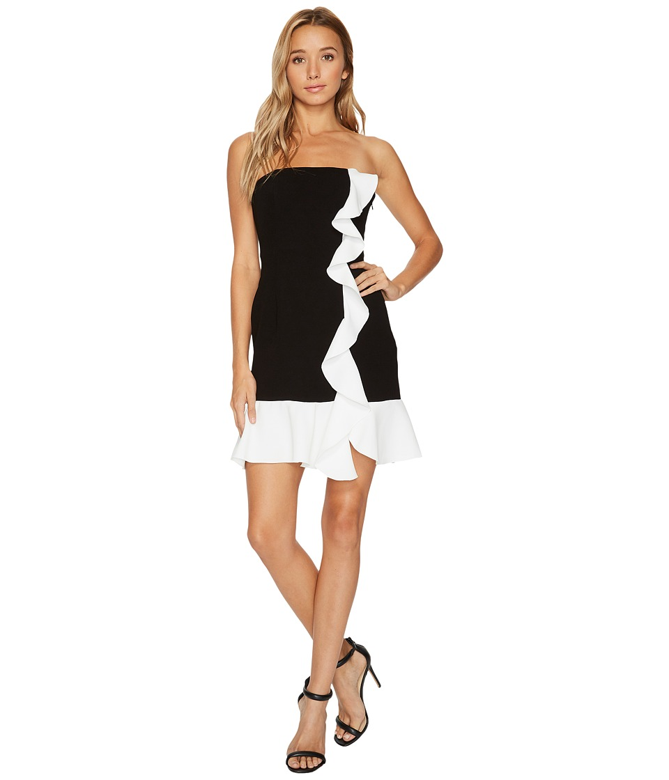 Rachel Zoe - Stretch Crepe Strapless Ashby Mini Dress