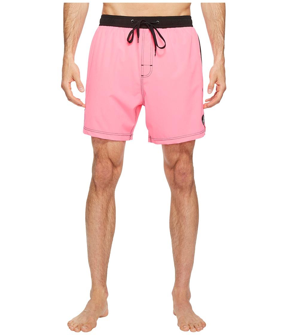 Body Glove Twinner Volleys Boardshorts (Neon Pink) Men