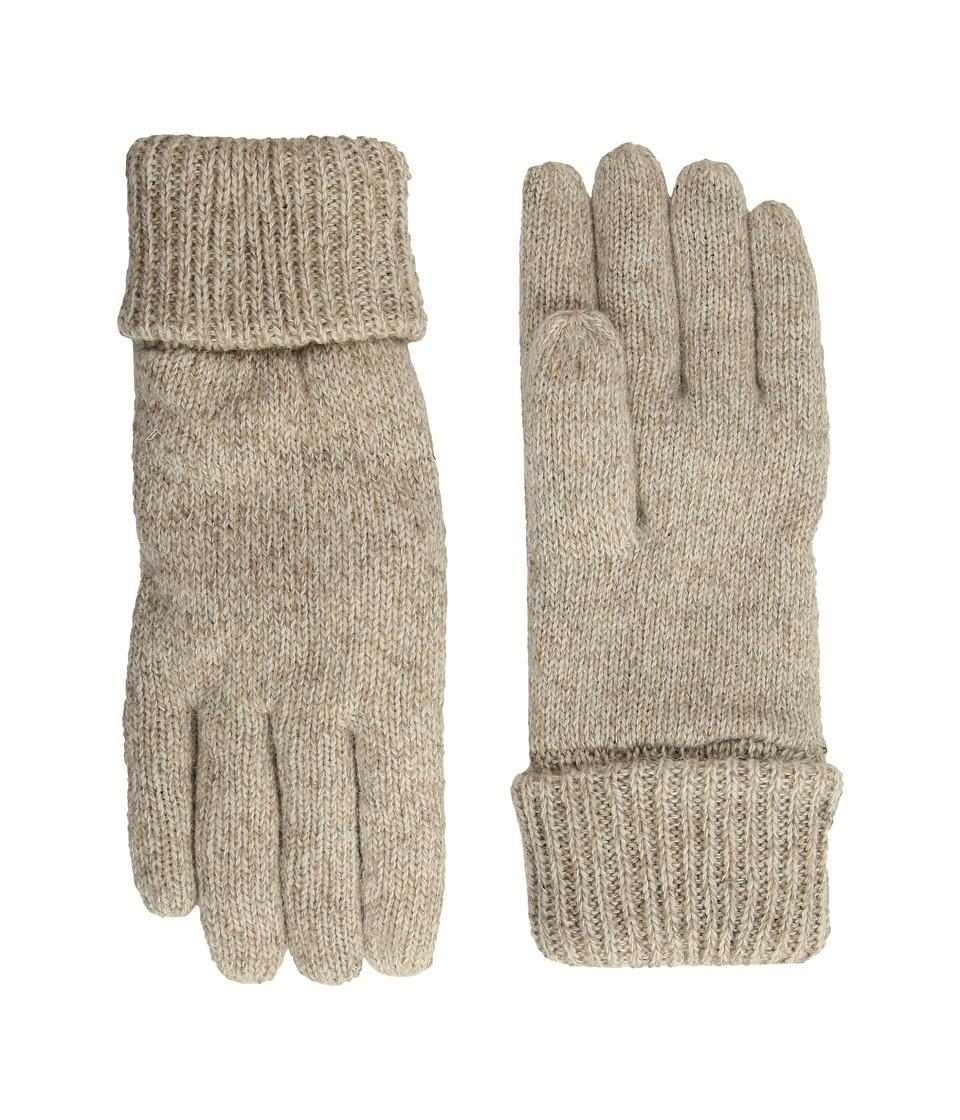 Woolrich Raggwool Gloves (Oatmeal) Wool Gloves