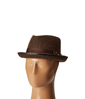 CARLOS by Carlos Santana - Wool Fedora with Feather Bow