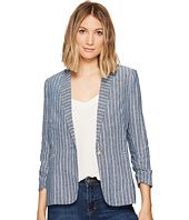 XOXO - Linen Stripe Jacket