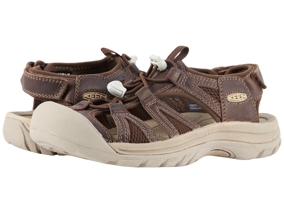 Keen - Venice II (Mink Oil/Dark Earth) Womens Shoes