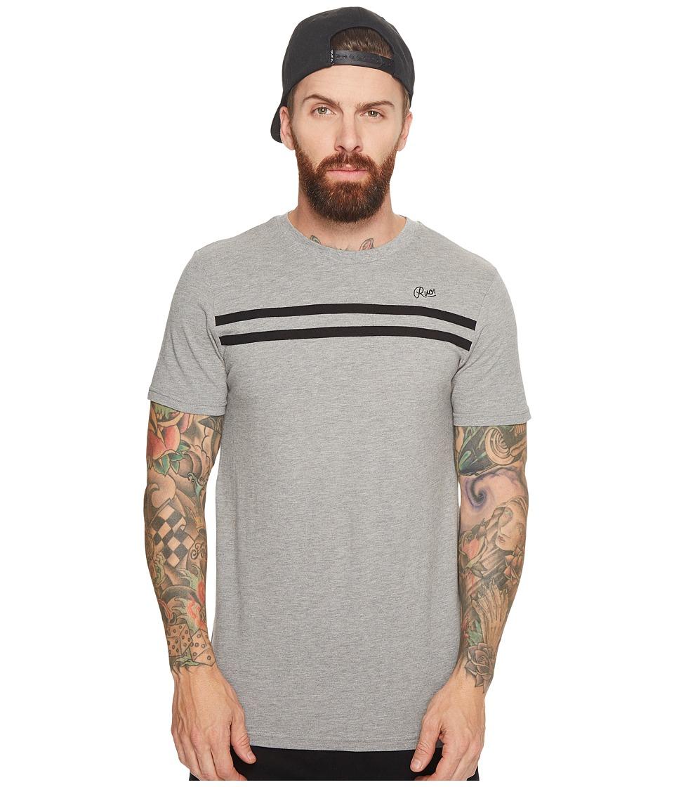 RVCA - Classique Tee (Athletic Heather) Mens T Shirt