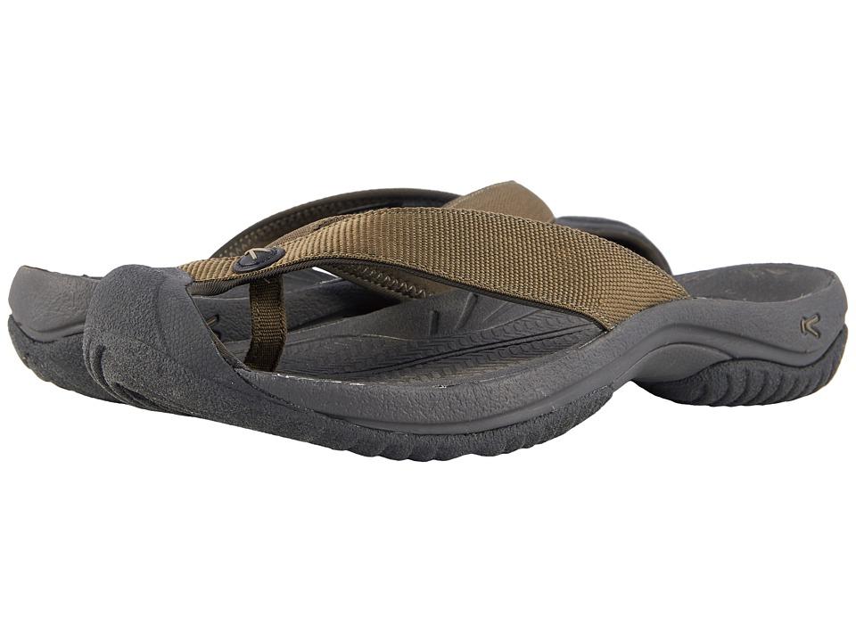 Keen - Waimea H2 (Dark Olive/Black Olive) Mens Sandals