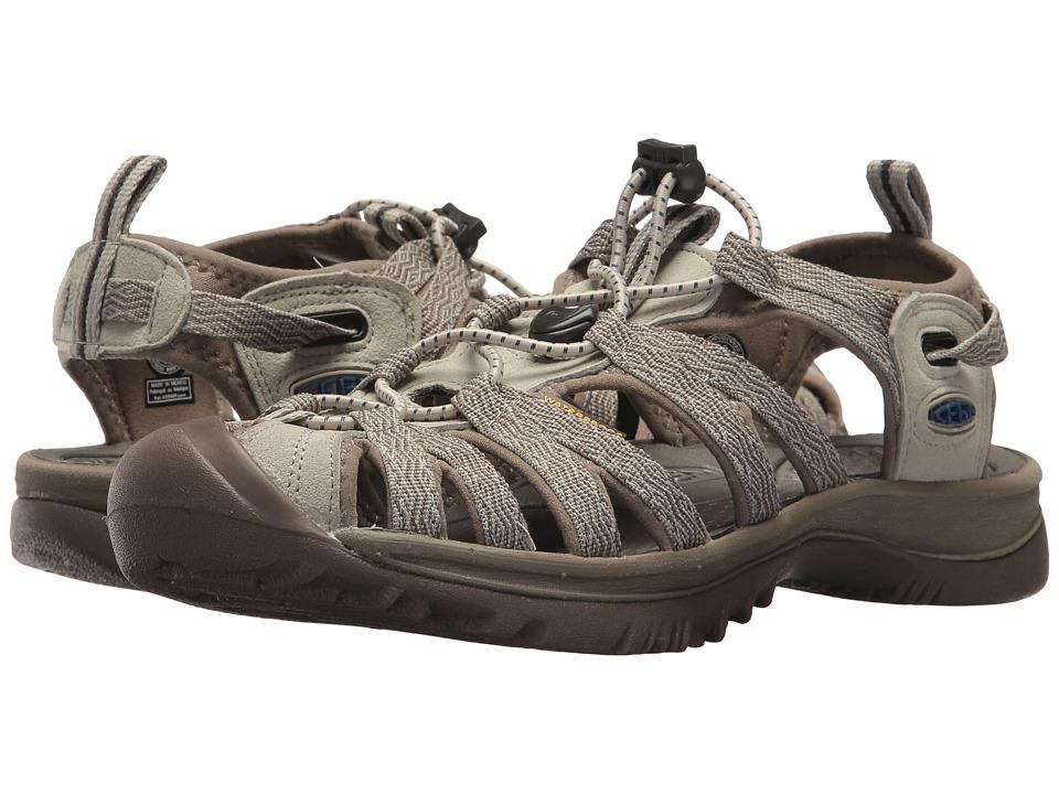 Keen Whisper (Agate Grey/Blue Opal) Sandals