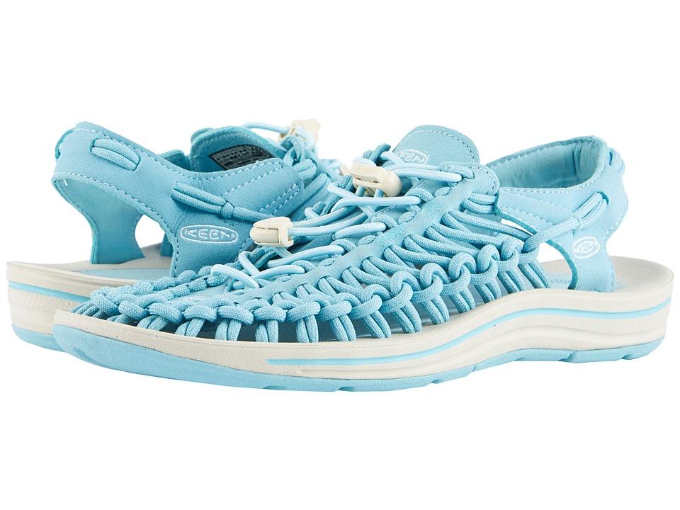 Keen Uneek (Aqua Sea/Pastel Turquoise) Women's Toe Open Shoes