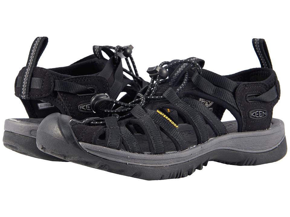 Keen Whisper (Black/Magnet) Sandals