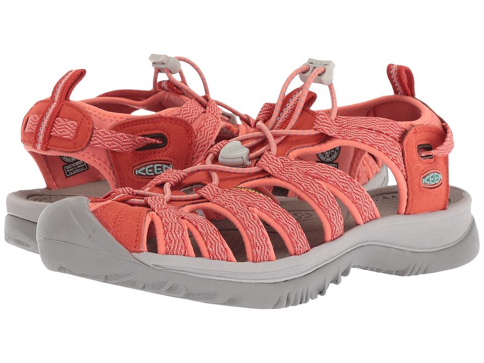 Keen Whisper (Summer Fig/Crabapple) Sandals