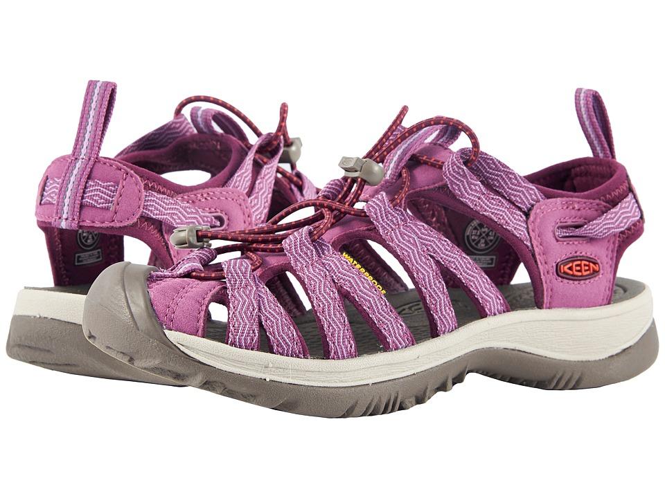 Keen Whisper (Grape Kiss/Grape Wine) Sandals