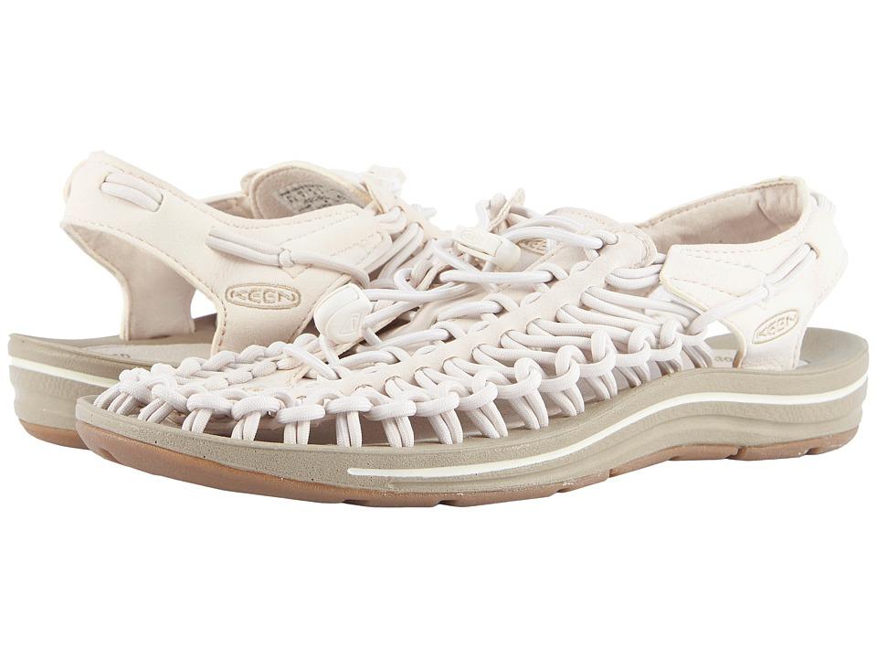 Keen Uneek (Whitecap/Cornstalk) Women's Toe Open Shoes