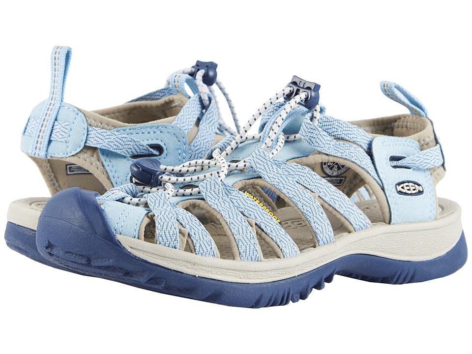 Keen Whisper (Sterling Blue/Dress Blue) Sandals