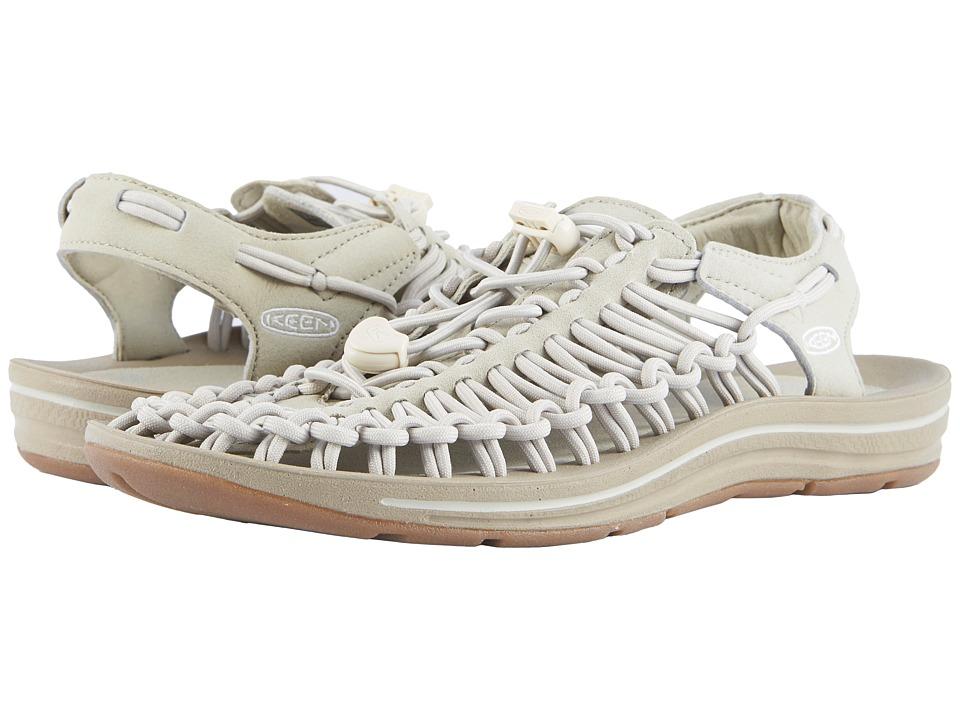 Keen Uneek (Agate Grey/Silver Birch) Women's Toe Open Shoes