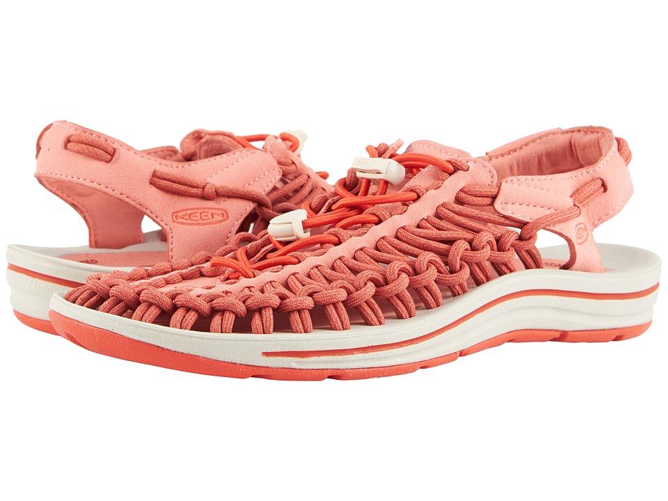 Keen Uneek (Summer Fig/Crabapple) Women's Toe Open Shoes