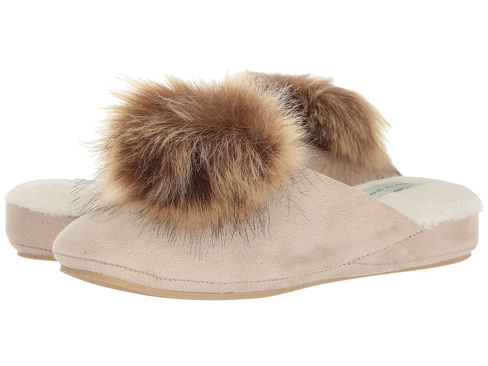 Patricia Green Pretty Pouf (Sand) Slippers